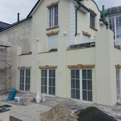 Sanierungsarbeiten in Wachtum